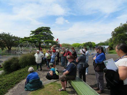 Memorial Park Local History Week walk