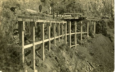 Widening of the Gorge, 1920s