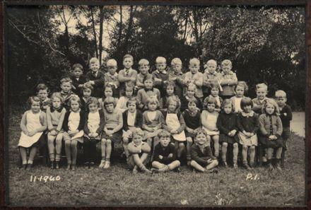 Terrace End School - Primer 1, 1940