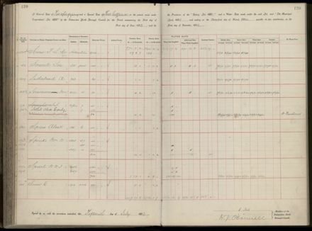 Palmerston North Rate Book, 1893 - 1896, 125