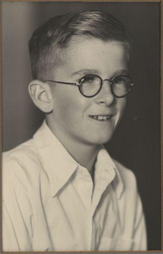 Malcom E. Cunninghame - Terrace End School, 1942