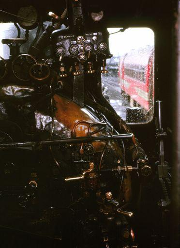 BB Class Locomotive Cab