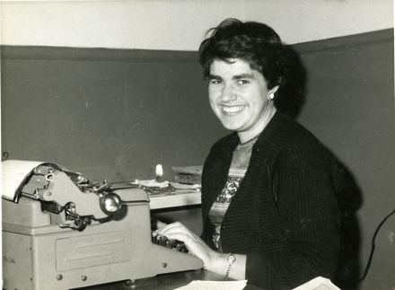 Portrait of Elaine Thompson