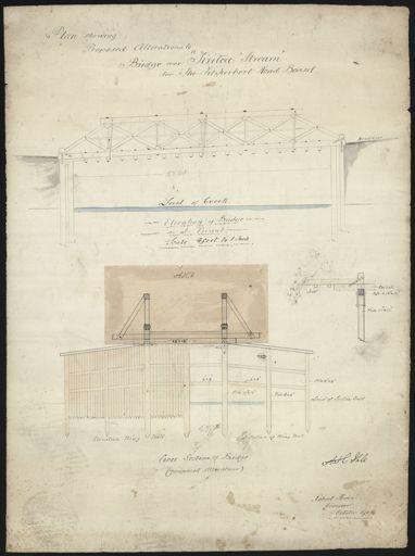 Plan, Bridge Over Tiritea Stream