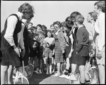 """Lawn Tennis Stars of the Future"""