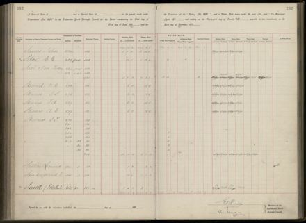 Palmerston North Rate Book, 1893 - 1896, 237