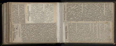 R.E. (Dick) Moxon - Photograph and news clipping album - 24