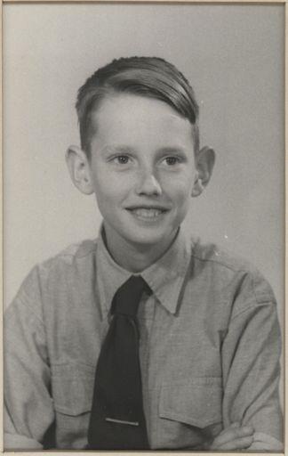 Martin Anderston - Terrace End School Dux, 1954