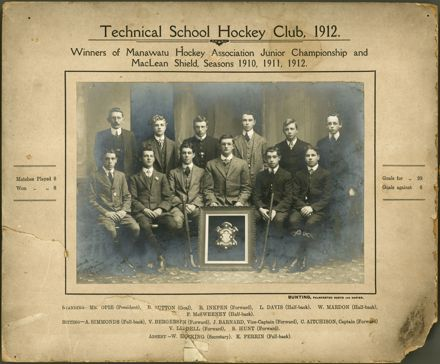 Technical School Hockey Club, 1912