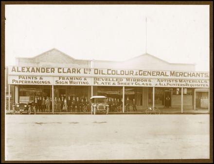 Alexander Clark Storefront