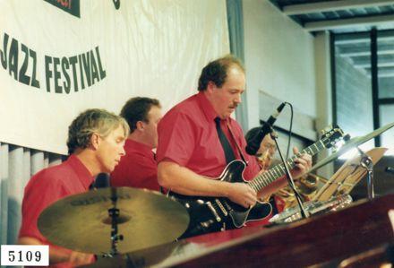 Ralph Sims and Gavin Donaldson, Manawatū Jazz Festival