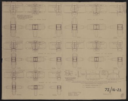 Architectural Plans, T&G Building 7