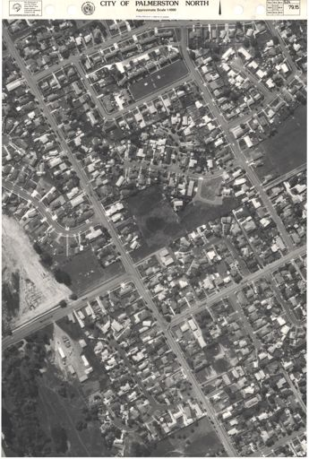 Aerial Map, 1986 - 79-15