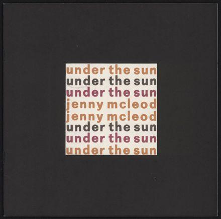 Under The Sun - programme