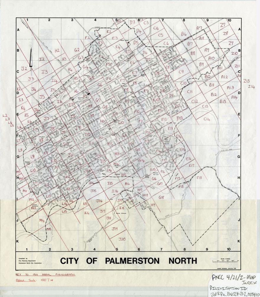 Aerial map - 1966