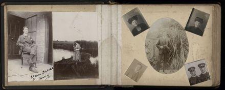R.E. (Dick) Moxon - Photograph and news clipping album - 3