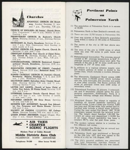 PRO Visitors Guide: Circa 1970's - 26