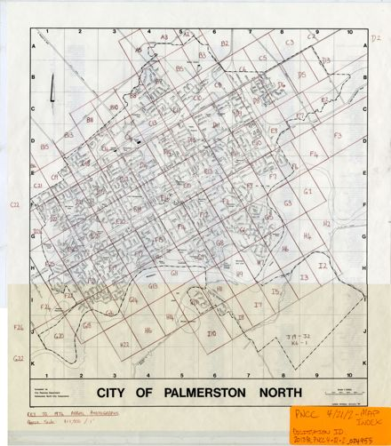 1976 Aerial Map