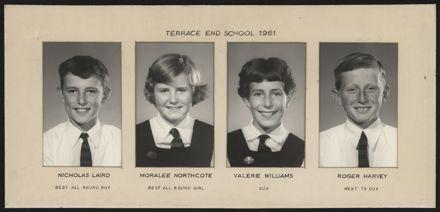 Terrace End School Student Leaders, 1961