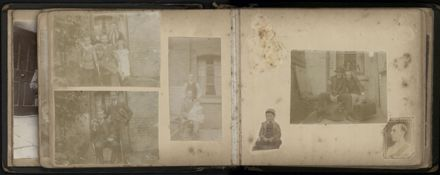 R.E. (Dick) Moxon - Photograph and news clipping album - 7