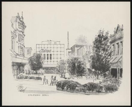 Palmerston North: A Portfolio of Six Sketches 2