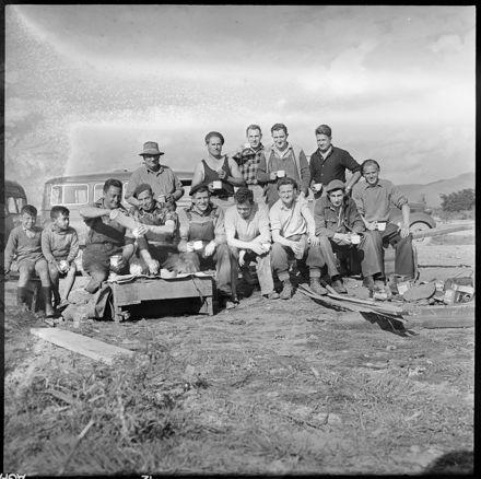 """""""The Men Who Built the Bridge"""" at Longburn"""
