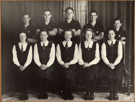 Palmerston North Technical School Prefects, 1937
