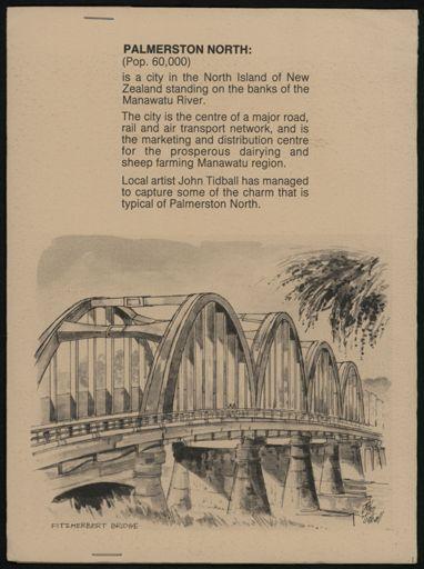 Palmerston North: A Portfolio of Six Sketches 8