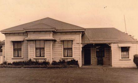 Parker farmhouse, Banks Line, Rongotea