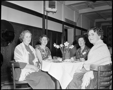 """Past Pupils at Reunion Dinner ""Girls'' High School Old Girls' Reunion"
