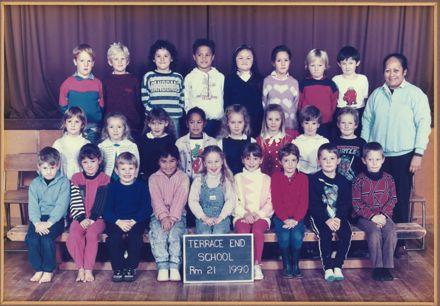 Terrace End School - Room 21, 1990