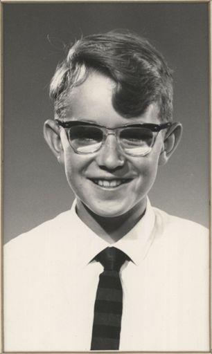 Bruce Asher - Runner-up Dux, Terrace End School, 1964