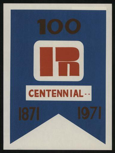 Palmerston North Centennial poster