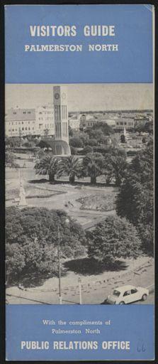 Visitors Guide Palmerston North: April-June 1966