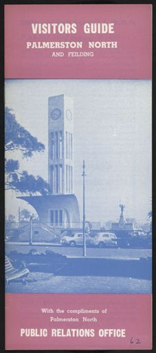 Visitors Guide Palmerston North and Feilding: October-December 1962