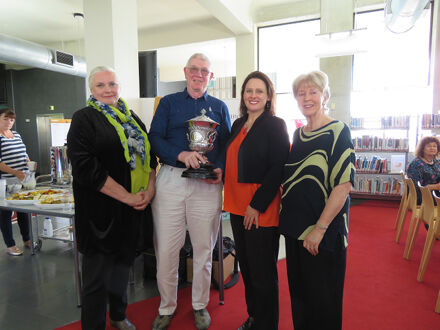Book launch: 'Racing the Boys' at the Palmerston North City Library