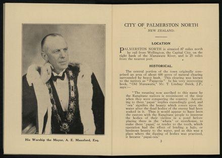 City of Palmerston North Municipal Hand Book 1937 3