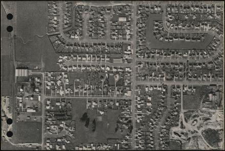 Aerial map, 1966 - D9