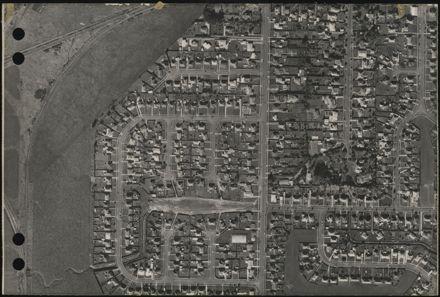Aerial map, 1966 - D10