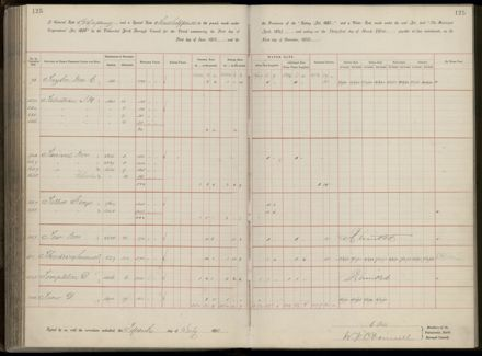Palmerston North Rate Book, 1893 - 1896, 130