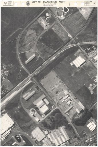 Aerial Map, 1986 - 7-8
