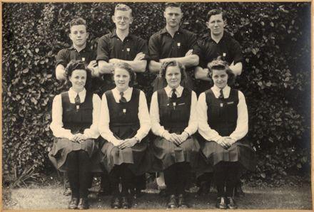 Palmerston North Technical School Prefects, 1945