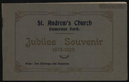 St Andrew's Church Jubilee Souvenir, 1879-1929 1