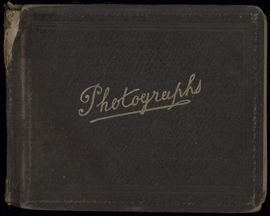 R.E. (Dick) Moxon - Photograph and news clipping album