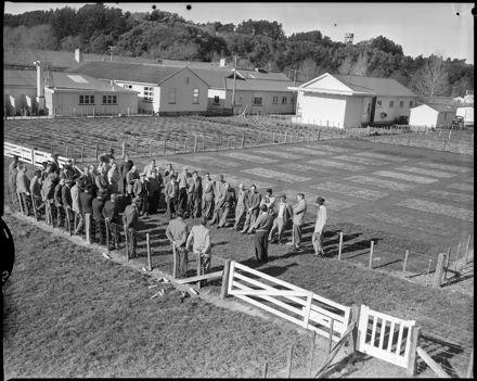 """Agricultural Inspectors on Training Course"" at Grasslands DSIR"