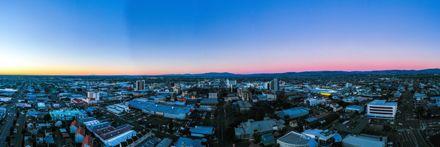 Panorama of Palmerston North