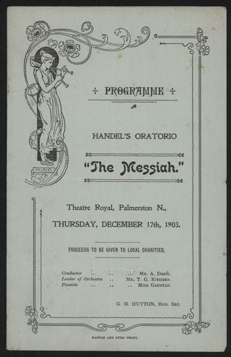 Theatre Royal concert programme