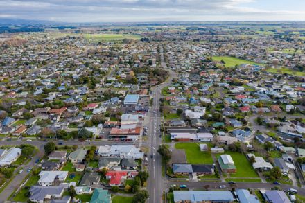 Aerial View of College Street and Awapuni