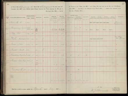 Palmerston North Rate Book, 1893 - 1896, 43