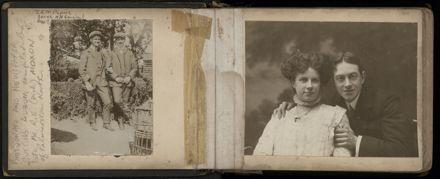 R.E. (Dick) Moxon - Photograph and news clipping album - 2